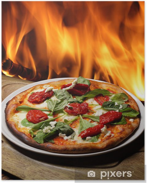 Poster Pizza - Culinaire
