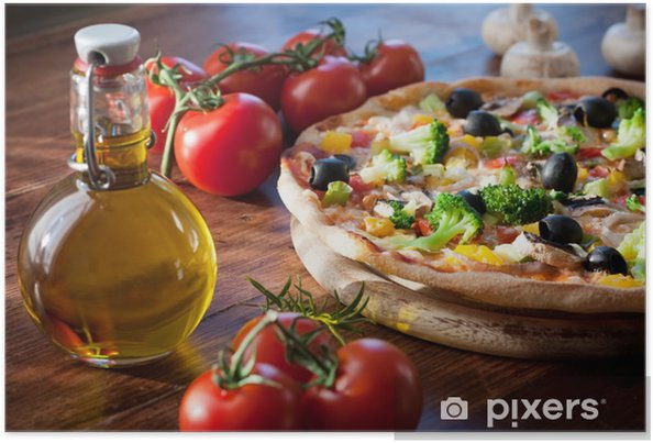 Poster Pizzas - Thèmes