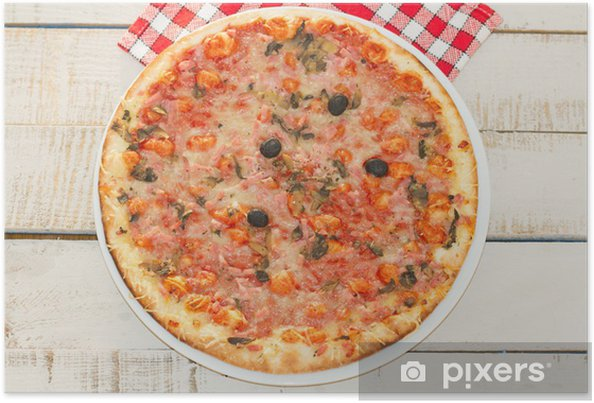 Poster Pizzas - Destin