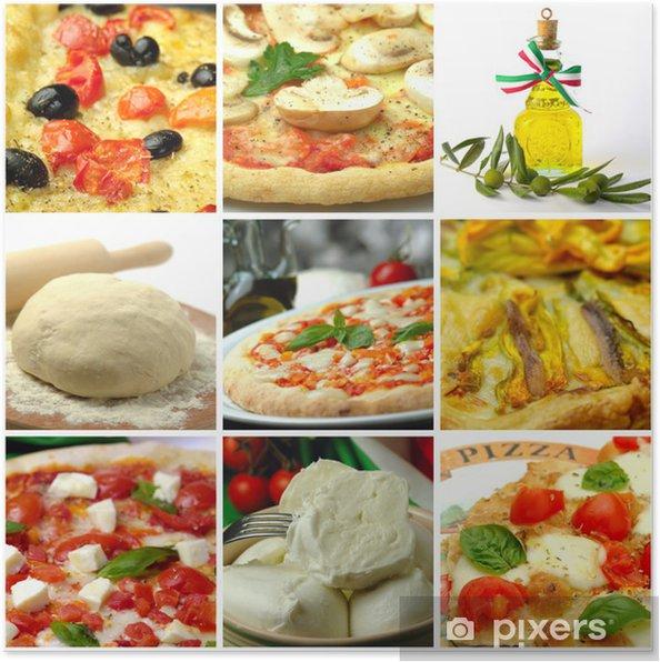 Poster Pizzas - Repas