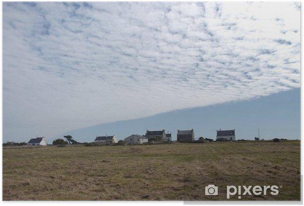 Póster Plafond de nuages - Cielo