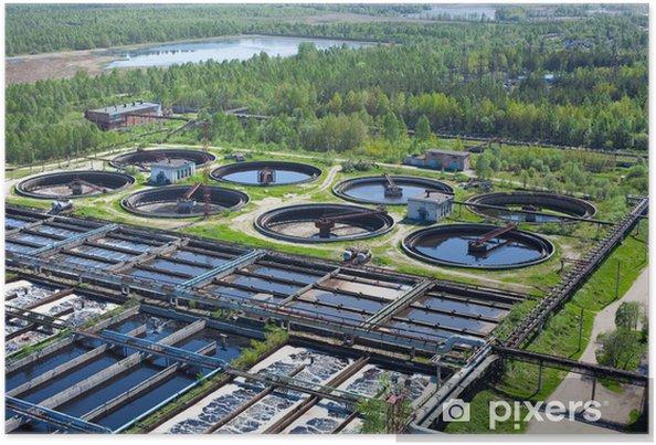 Póster Planta de tratamiento biológico de aguas con colonos ...