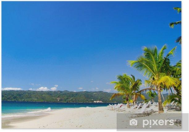 Póster Playa - Agua
