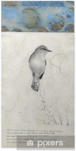 Poster Poème de Mockingbird - Art et création