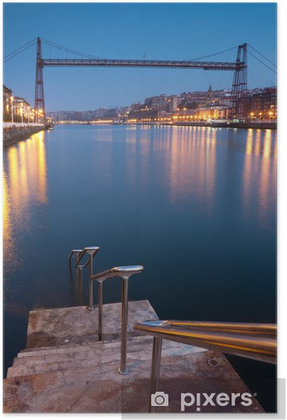 Poster Pont de Biscaye, Getzo, Biscaye, Pays Basque, Espagne - Thèmes