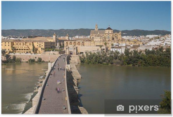 Poster Pont Romain De Cordoue En Andalousie Sud De L Espagne