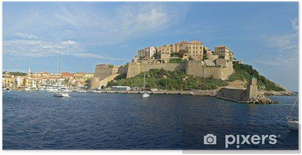 Poster Port de Calvi Corse1 - Europe