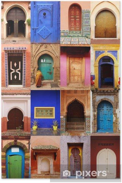 Poster Portes du Maroc - Gebouwen en Architectuur