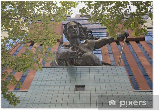 Póster Portlandia Estatua - América