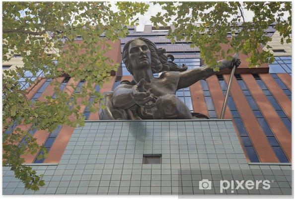 Poster Portlandia Statue - Amérique