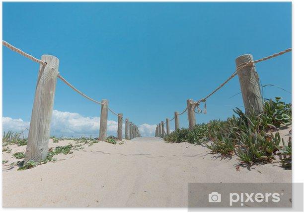Portugal - Algarve - Ilha de Faro - Praia de Faro Poster - Holidays