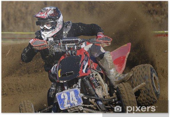 Poster Power quad - Sports extrêmes