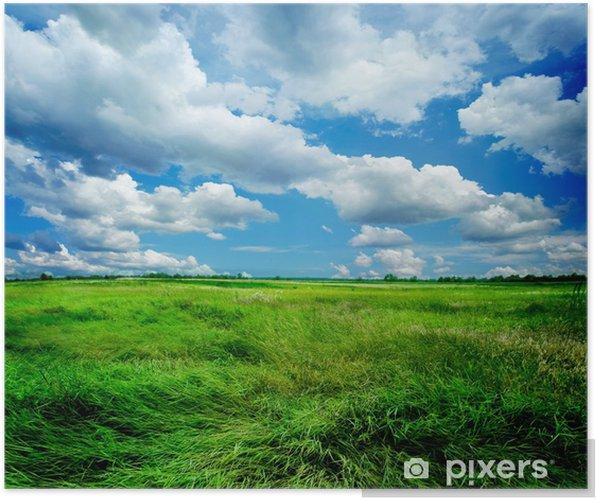Poster Prachtige natuur landschap - Thema's