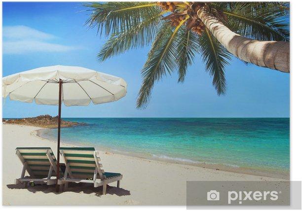 Poster Prachtige natuur - Vakantie