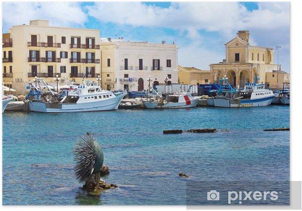 Póster Puerto de Gallipoli del Reed - Europa