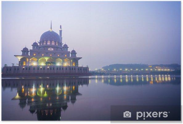 Poster Putra Mosque - Asie