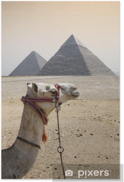 Poster Pyramides - Afrique