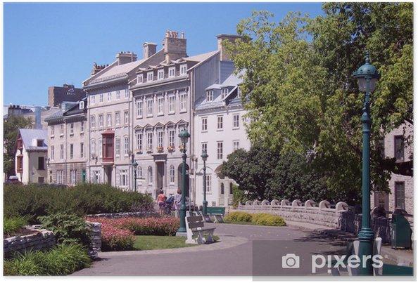 Póster Quebec - Monumentos