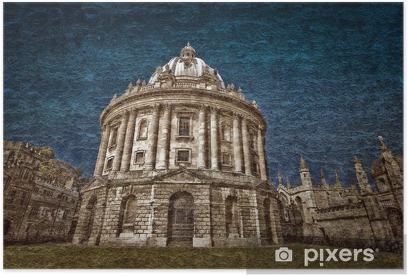 Poster Radcliffe Camera postale - Education