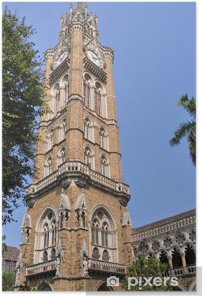 Poster Rajabai Clock Tower, Mumbai - Asie