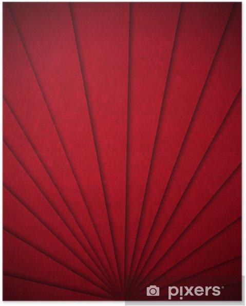 Poster Red Velvet Fond abstrait - Réussite