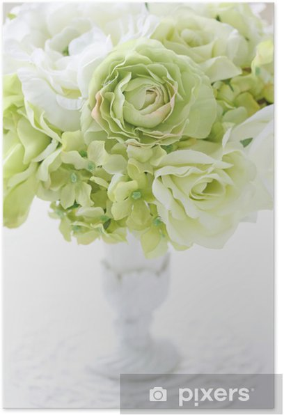 Poster Regeling van kunstmatige bloem - Huis en Tuin