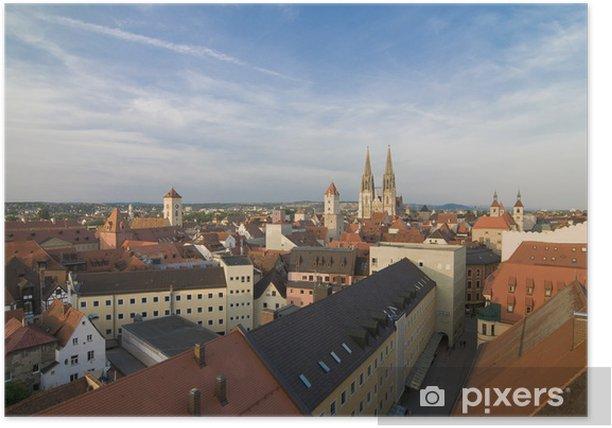 Poster Regensburg über Pustet Passage - Europe