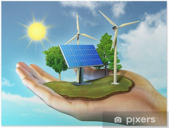 Renewable Energy Poster Pixers 174 We Live To Change