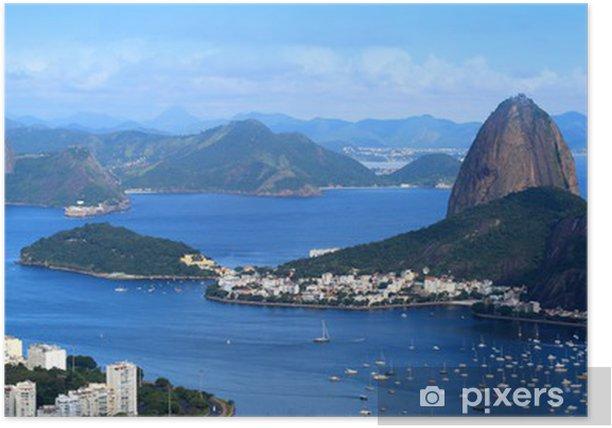 Rio De Janeiro, Brazil landscape Poster - Brazil