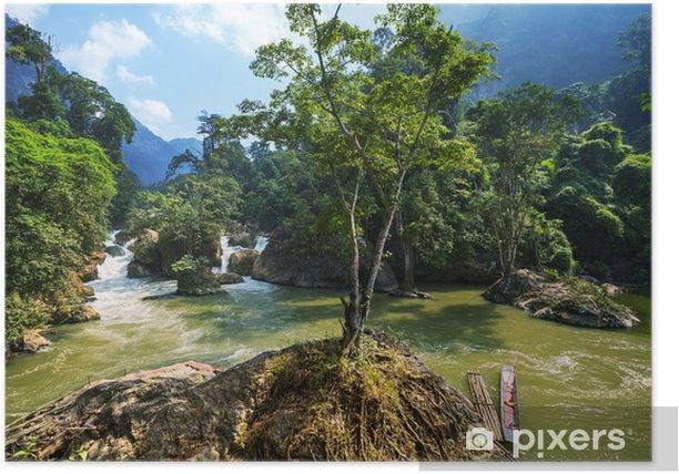 Poster Rivière au Vietnam - Thèmes