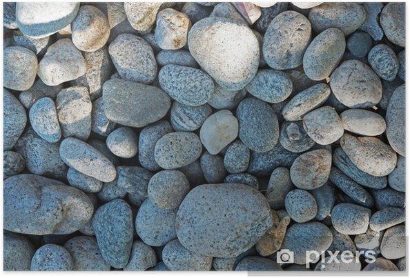 Poster Rocks Achtergrond - Achtergrond en textuur
