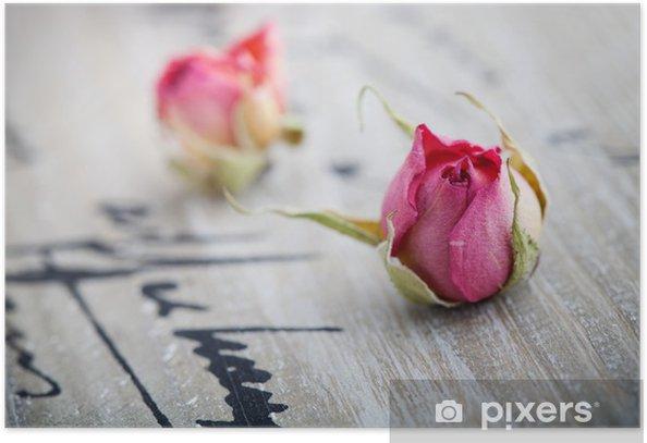 Poster Roses séchées - Fêtes internationales
