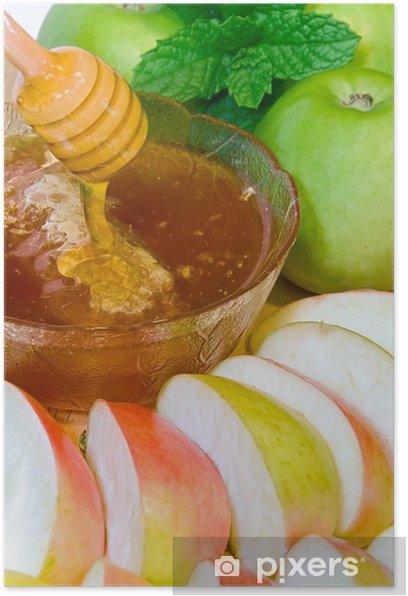 Poster Rosh Hashanah - Repas
