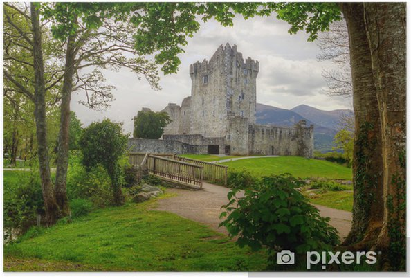 Póster Ross Castle, cerca de Killarney, Co. Kerry Irlanda - Temas