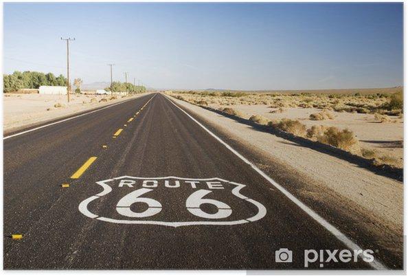 Poster Route 66 - Thèmes
