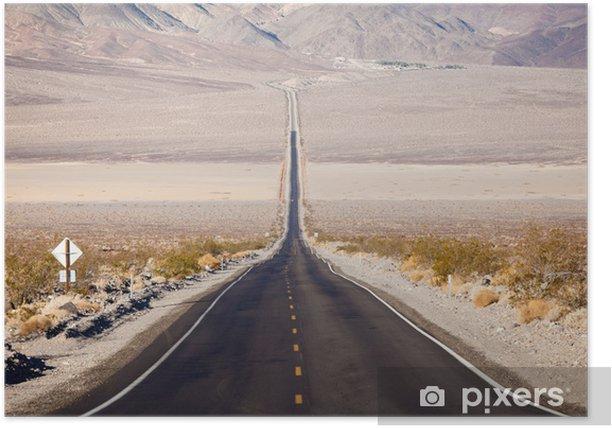 Poster Route à Death Valley - Destin