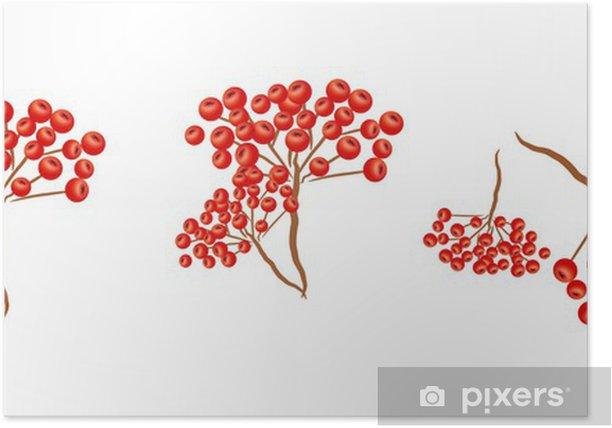 Rowan tree Poster - Trees