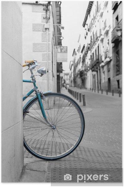 Póster Rueda de bicicleta - Bicicletas