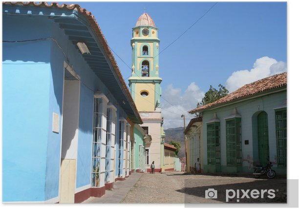 Poster Ruelle à Trinidad - Cuba - Thèmes