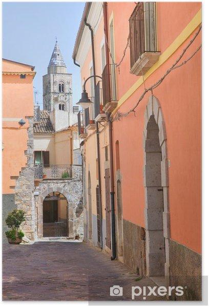 Poster Ruelle. Melfi. Basilicate. Italie. - Thèmes