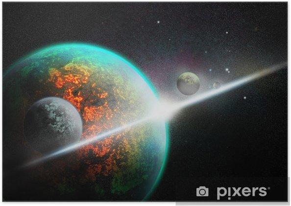 Behang Kinderkamer Ruimtevaart : Poster ruimtevaart u2022 pixers® we leven om te veranderen