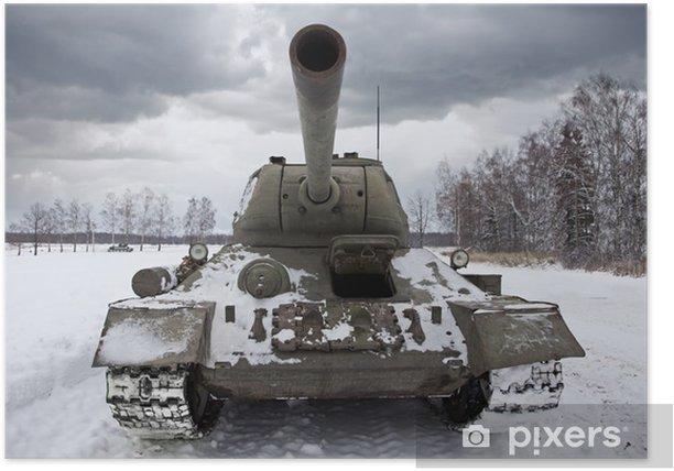 Poster Russie Réservoir T34 - Thèmes