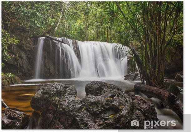 Poster Sa cascade Tranh à Phu Quoc, Vietnam - Asie