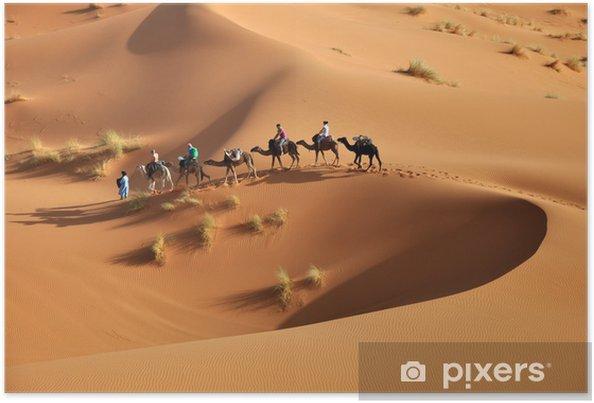 Póster Sahara - Desierto
