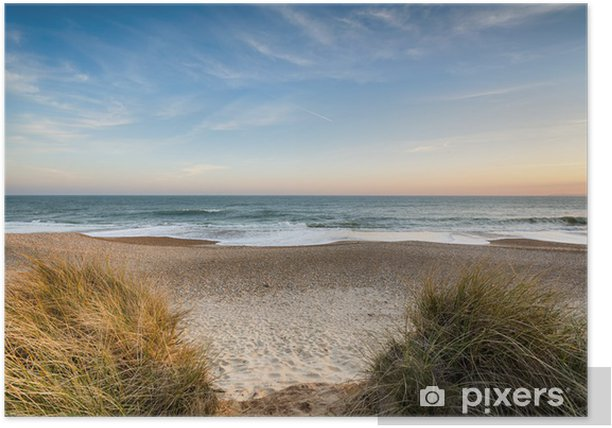 Sand dunes Poster - Water