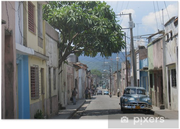 Poster Santiago de Cuba - iStaging