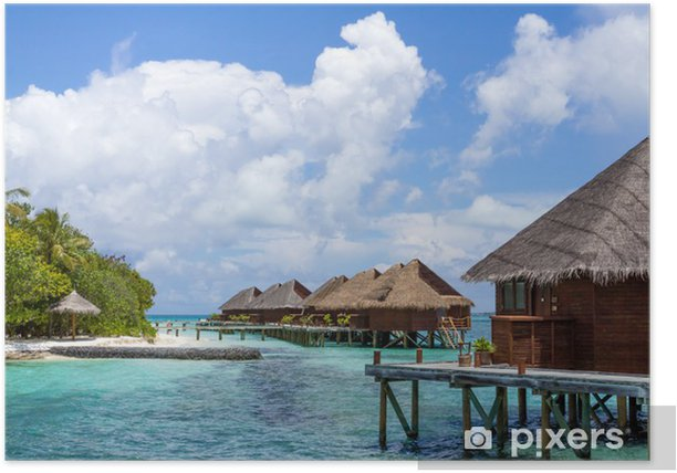 Scenery of Resort Island,Maldives Poster - Asia