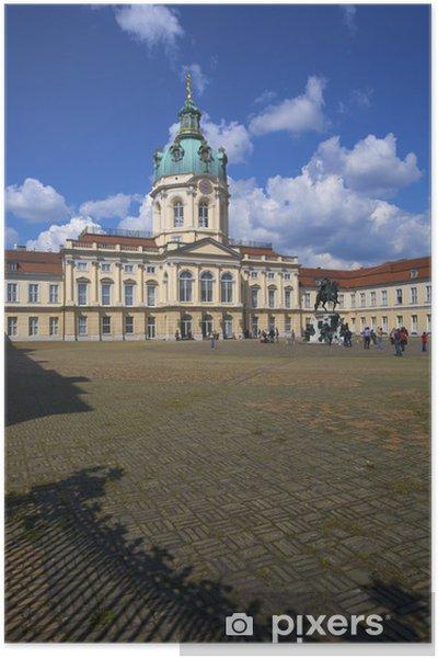 Schloss Charlottenburg, Berlin, germany Poster - Holidays