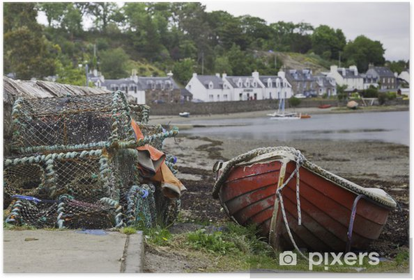 Poster Schottland idylle dans plockton - Vacances