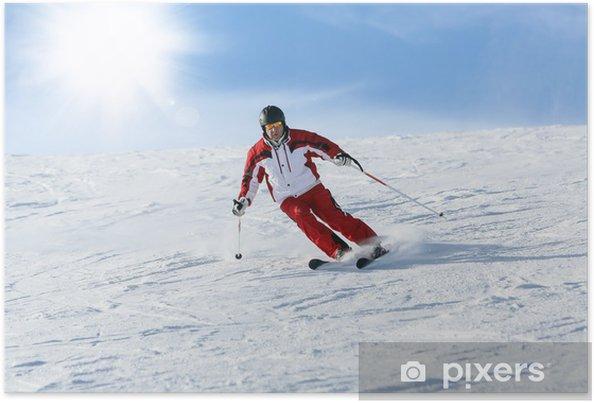 Poster Sciare - Sports d'hiver